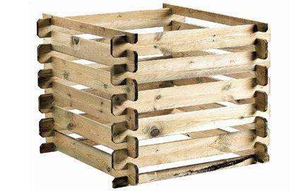 composteur en bois - Comment Fabriquer Un Composteur Exterieur