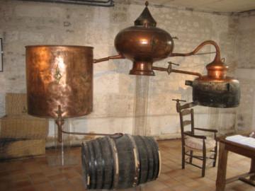 Alambic pour la fabrication du cognac